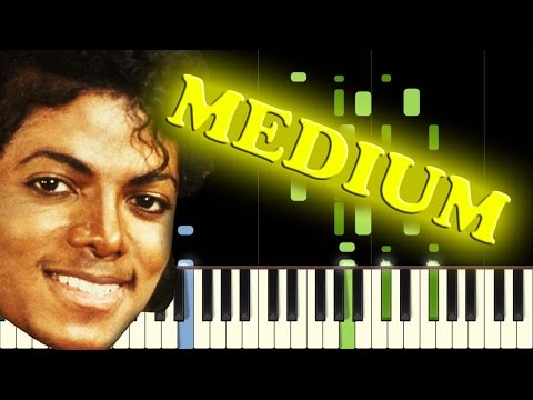 MICHAEL JACKSON - BILLIE JEAN - Piano Tutorial thumbnail