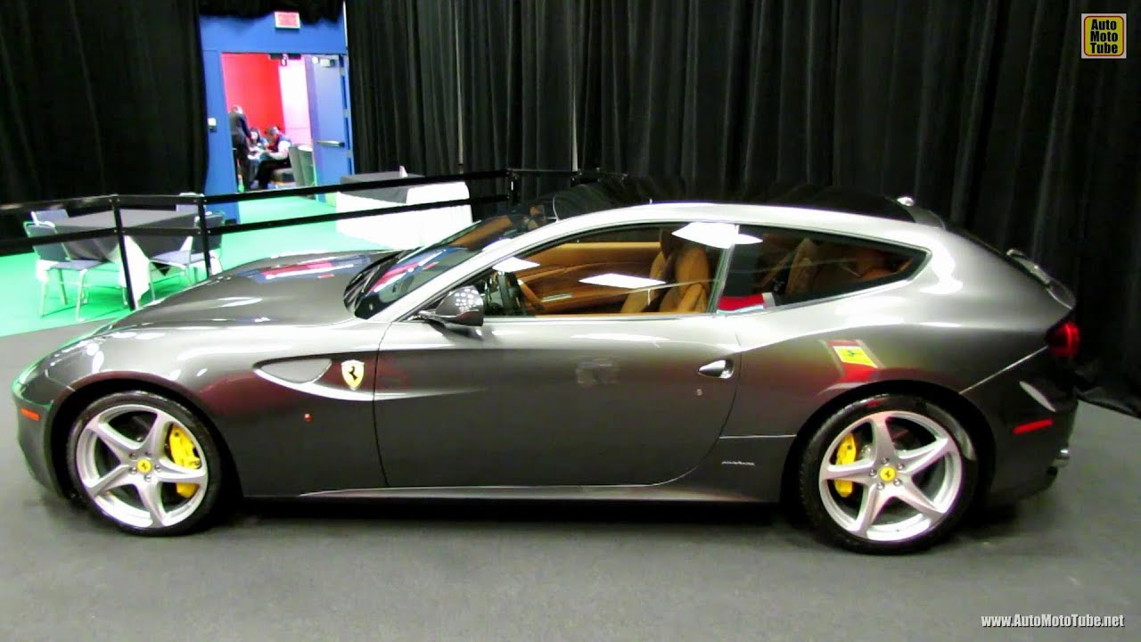 2014 Ferrari FF   Exterior And Interior Walkaround   2014 Montreal Auto  Show   YouTube