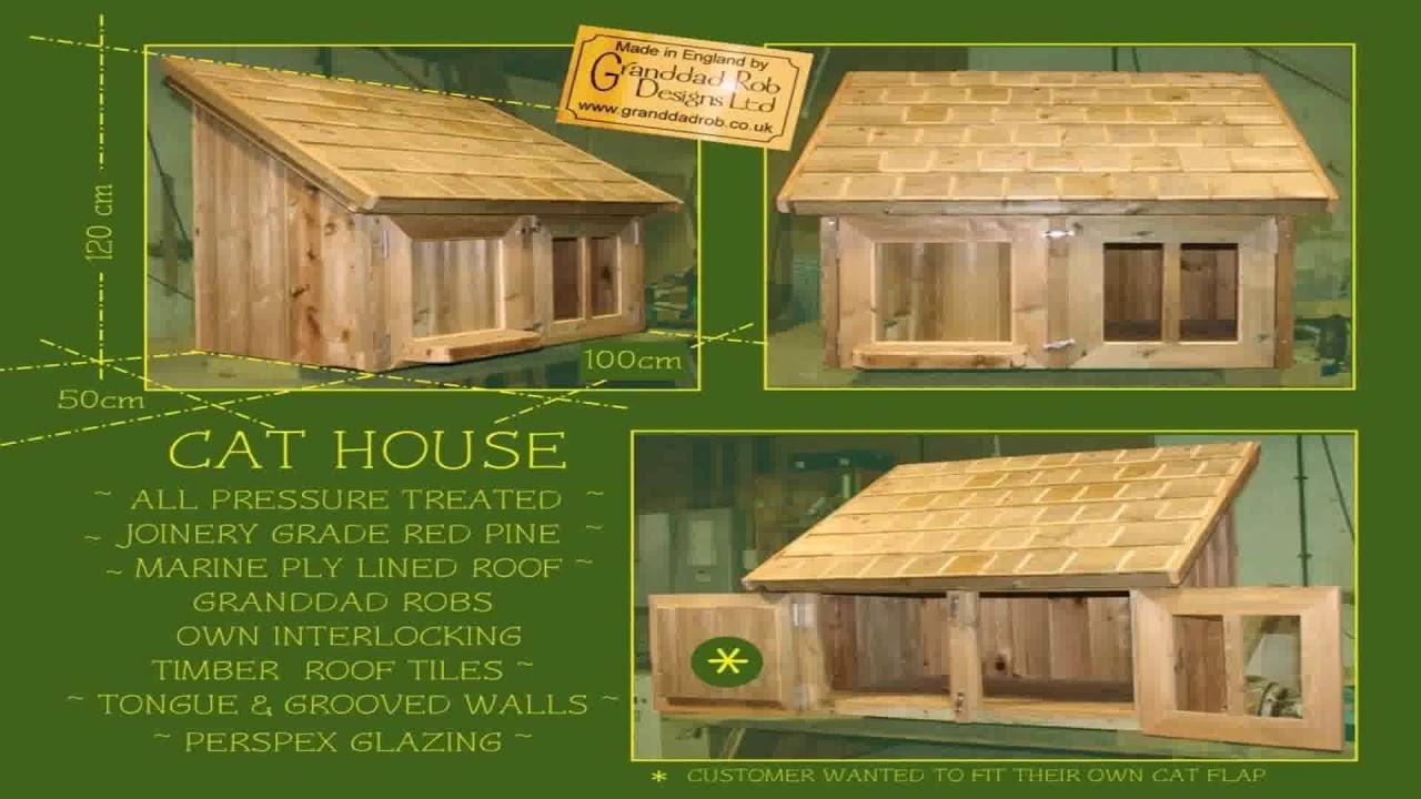 Outdoor Cat House Design Plans (see description) - YouTube