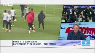 60 minutes sport – Petit : ''Le match contre le Barça, c'est la victoire d'Emery''
