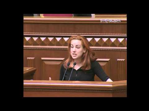 Леся Оробець: виступ у Верховній Раді про вибори мера Києва