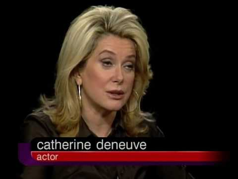 Catherine Deneuve Job İnterview On Charlie Rose 2002 & Catholicism And The Just