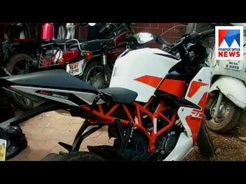 Suspention to ASI on dumping salt to bike petrol tank during vehicle checking | Manorama News