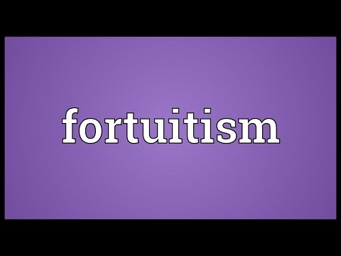 Header of fortuitism