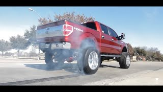 "Video BOOSTED F-150 On A 12"" Lift With 24x14 American Force Wheels ON 40s! One Of The CLEANEST In The DFW! download MP3, 3GP, MP4, WEBM, AVI, FLV Maret 2018"