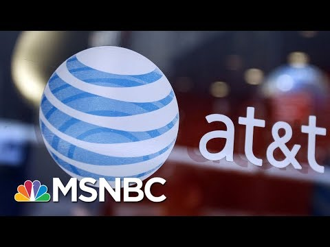 AT&T-Time Warner Merger Block May Be Explained By This Economic Theory | Velshi & Ruhle | MSNBC