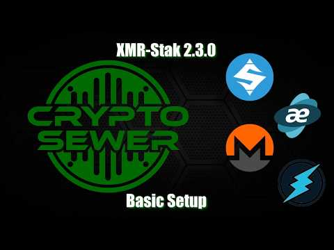 How To Configure XMR Stak Version 2.3.0 - Basic Setup