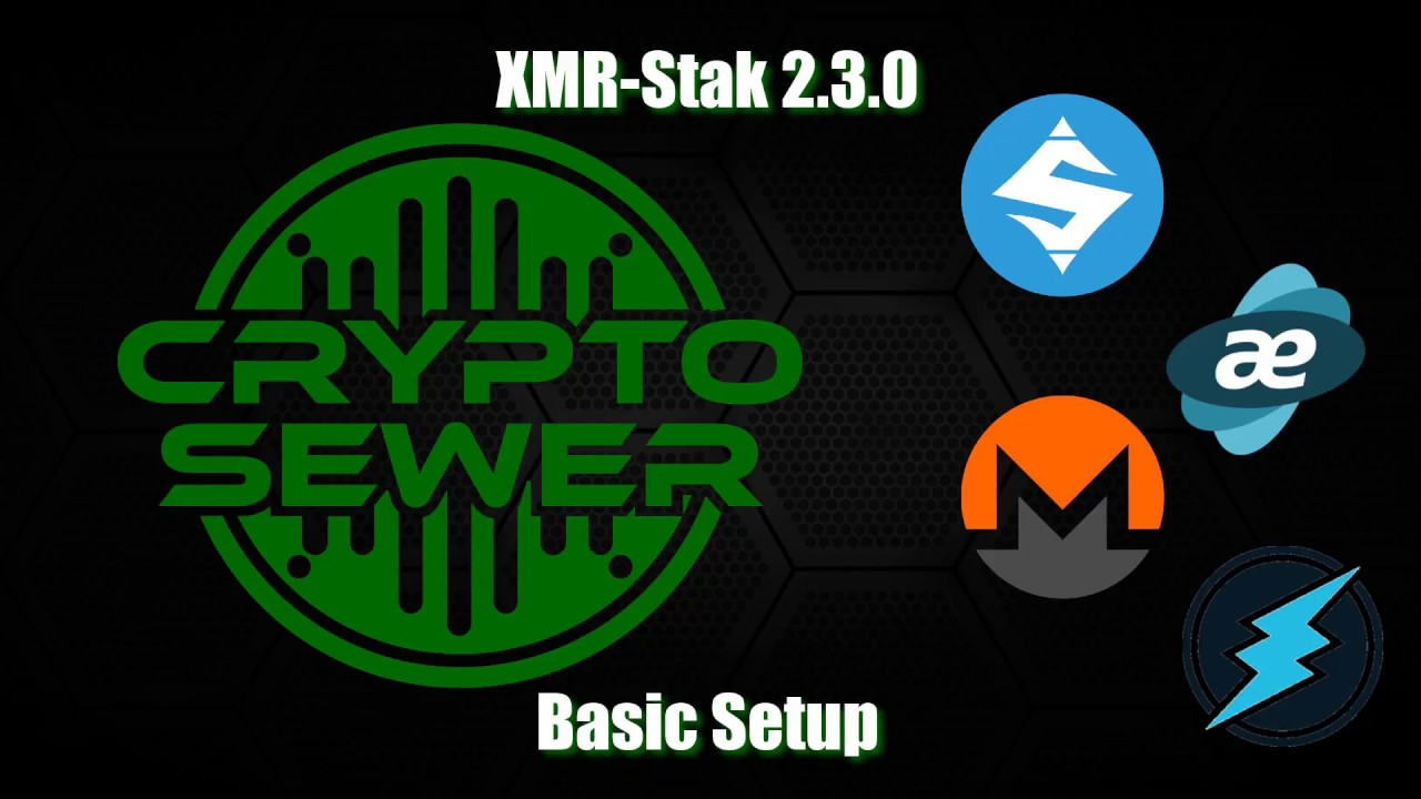 How to Configure XMR Stak Version 2 3 0 - Basic Setup