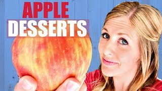 3 EASY Desserts for Apple Lovers - Perfect Fall Recipes
