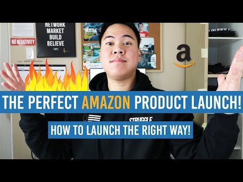 The PERFECT Amazon Product LAUNCH! How To RANK and LAUNCH The Right Way!