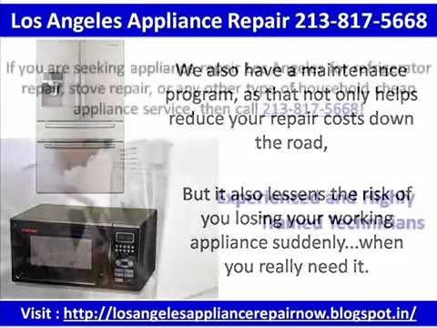 Los Angeles Appliance Repair 213-817-5668