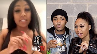 G Herbo Babymama Ari Explains Their Break Up On IG Live! 💔