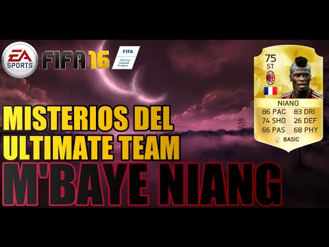 M'Baye Niang | FIFA 16: Misterios del Ultimate team