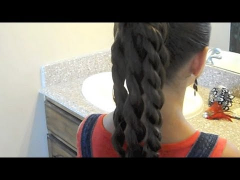 adorable-four-twist-ponytail-|-cutegirlshairstyles-|-disney-style