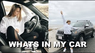 WHATS IN MY CAR + CAR ESSENTIALS