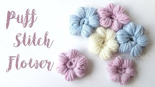 Today I show you how to crochet a puff stitch flower and how to sew them together. I hope you enjoy and feel inspired! Make sure to tag your creations on ...