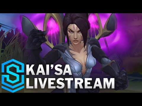 Kai'Sa Gameplay | New Champion - Automated Live Stream
