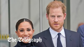 video: Duke and Duchess of Sussex hit New York in first tour of their post-royal era