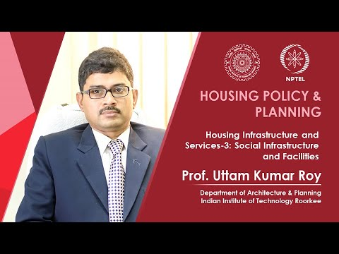 Housing Infrastructure and Services-3: Social Infrastructure and Facilities