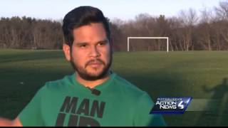 A soccer mom's warning after he son was killed playing his favorite game
