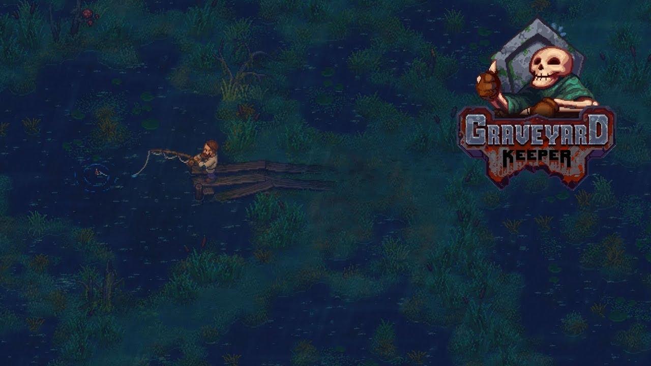 Graveyard keeper ловля лягушек