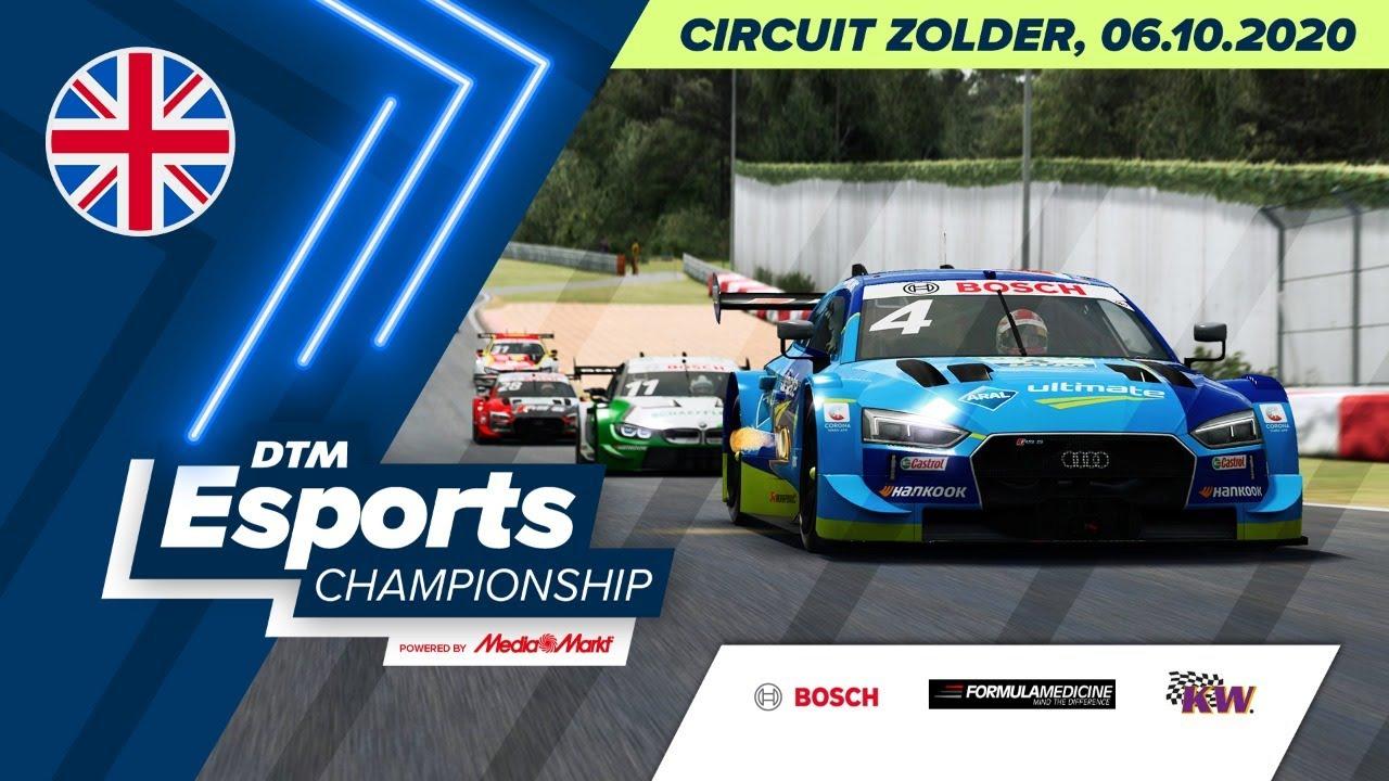 #DTMEsportsChampionship – Circuit Zolder (Round 2) - English