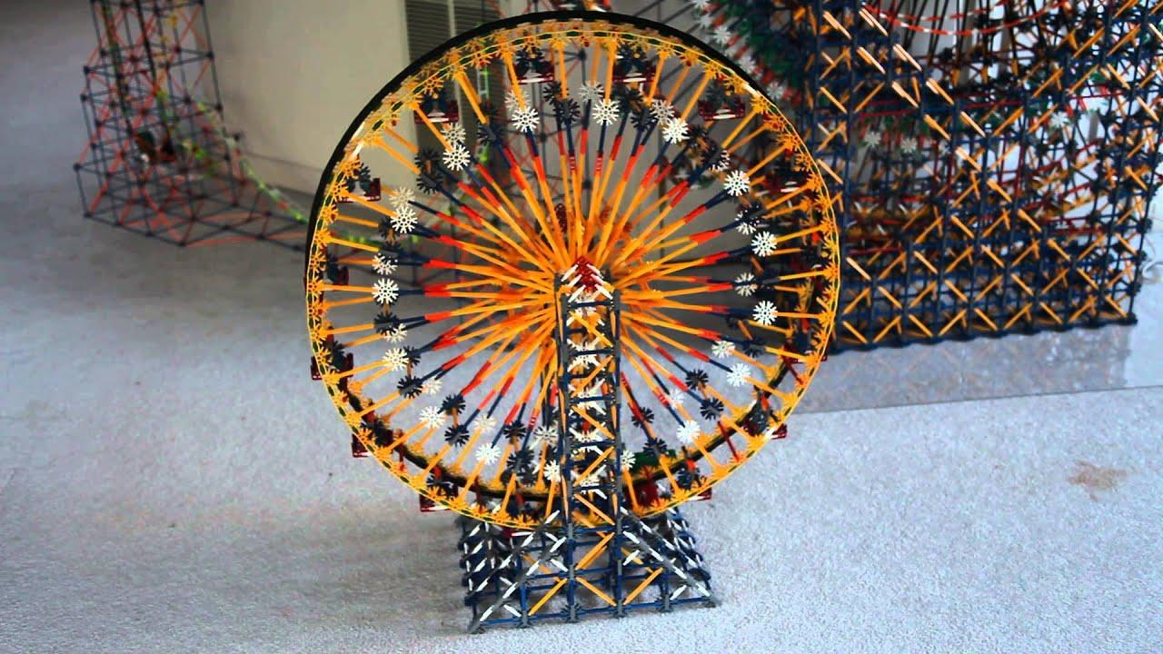 Knex Ferris Wheel - YouTube