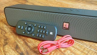 iBall Musi Bar iBall Soundbar Unboxing and Review iball bluetooth speaker Soundbar with FM