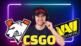 Virtus pro vs NaVi / Прогнозы на Спорт / CSGO