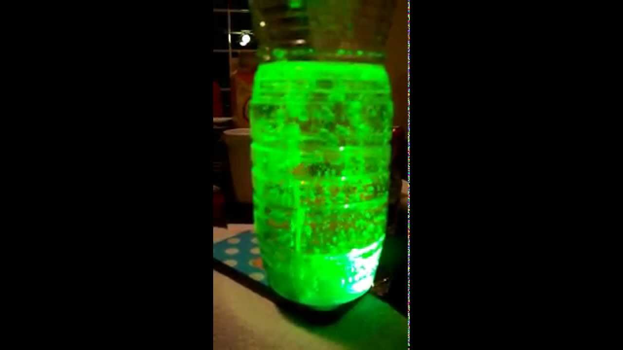 The Science Experiment With Oil Water Food Coloring and Alka ...