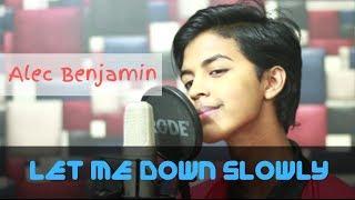 Alec Benjamin - Let Me Down Slowly (Studio Cover by Sahil Sanjan)