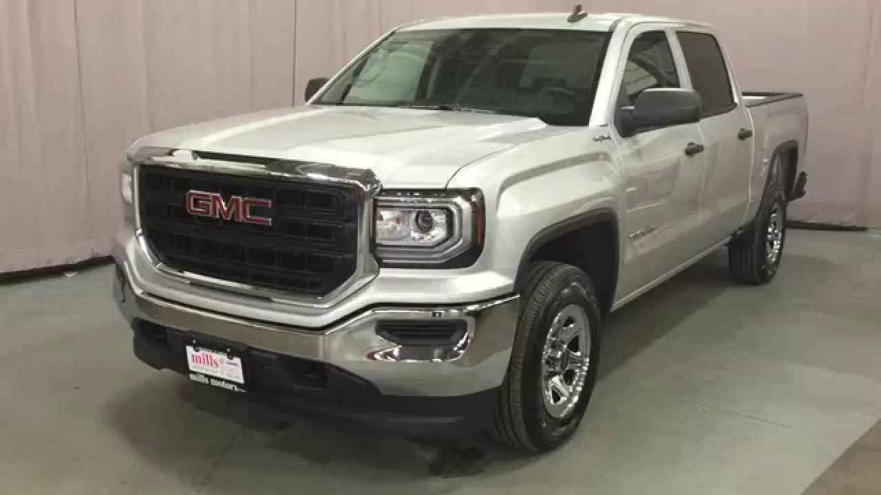 2016 Gmc Sierra 1500 Crew Cab 4wd 6 Penger Front Bench Seat Oshawa On Stock 160409