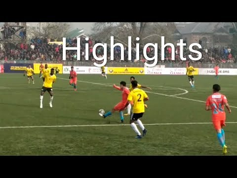 Real Kashmir vs indian arrows | Highlights | i-League 2018