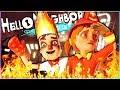 ПРИВЕТ СОСЕД ПРЯТКИ АКТ 3 ДЕТИ В ОГНЕ Hello Neighbor Hide And Seek Пожар и пожарный mp3