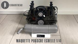 Maquette moteur Porsche 911 Flat-6 échelle 1/4 - ExhaustHead