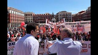 4.000 personas reivindican el 1 de mayo en Valladolid