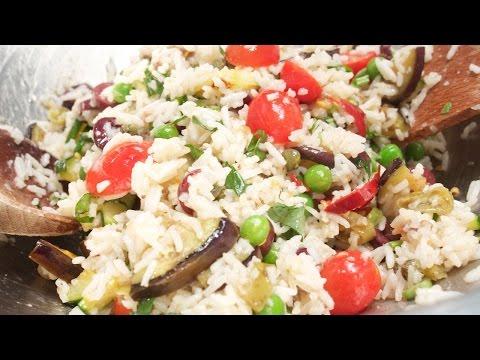Italienischer Reissalat mit Gemüse und Kräuter mit der Chefkoch Anleitung von Thomas Sixt kochen