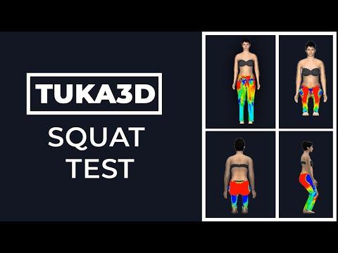 3D Virtual Prototyping Pants Seat Test