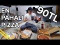 Dominos'tan EN PAHALI Pizzayı Aldım !