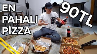 Dominostan EN PAHALI Pizzayı Aldım