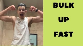 5 Diet Tips for Skinny Guys (BULK UP FAST) + MY NEW INTRO