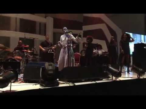 Lauryn Hill performing Doo Wop (That Thing) in Lagos, August 2015