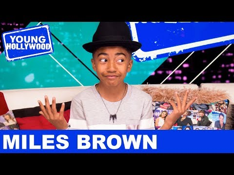 Blackish Star Miles Brown's Night With Maddie Ziegler & Millie Bobby Brown!