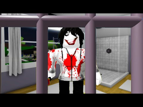 We TRAPPED JEFF THE KILLER in Roblox BrookHaven