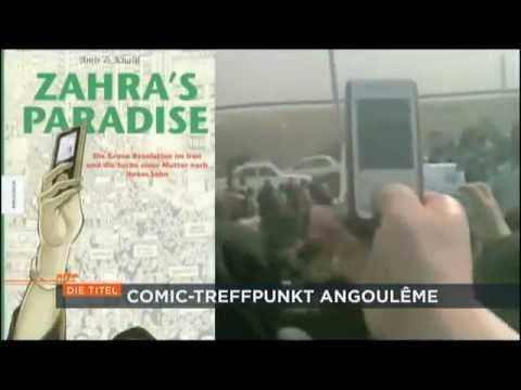 Comics gegen die Diktatur - Angoulême Comicfestival 2012