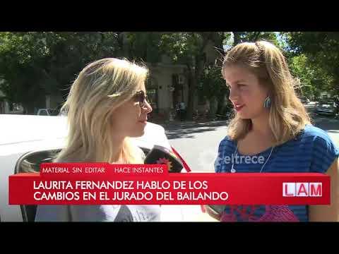 Laurita Fernández quiere ser jurado en el Bailando 2018