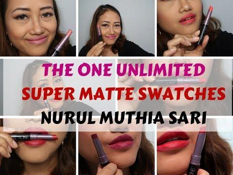 the-one-long-wear-colour-unlimited-super-matte-lipstick-oriflame-|-nurul-muthia-sari