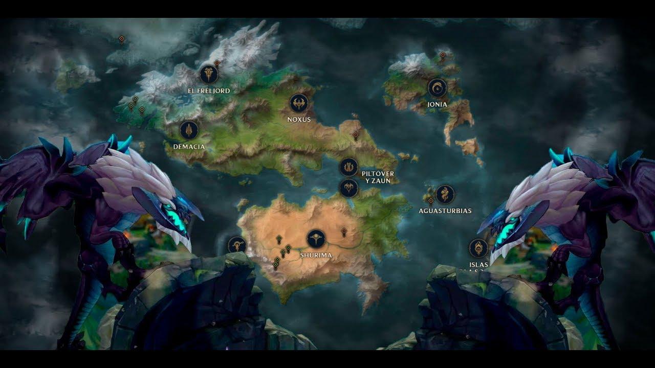 Explorando El Mapa De League Of Legends Youtube