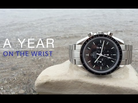 A Year on the Wrist -- Omega Speedmaster Professional