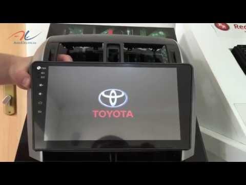 Обзор штатной магнитолы для Toyota Corolla RedPower 21063B